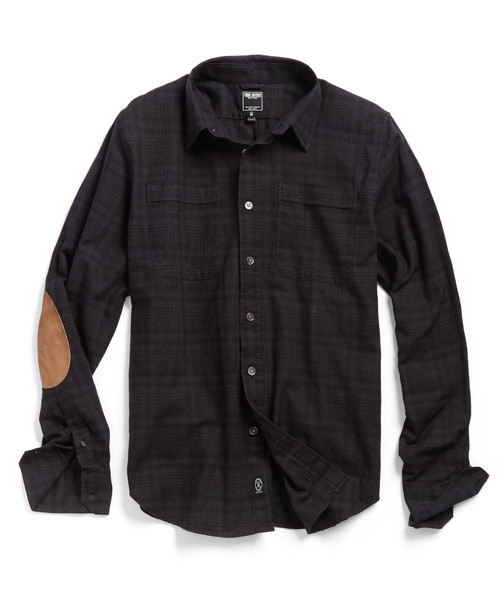 Rustic yet refined at the same time -- the Hemingway Elbow Patch Shirt from Todd Snyder.