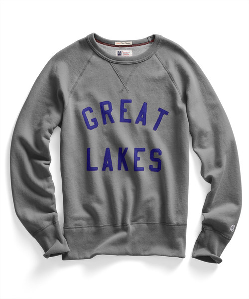 A touch of home in a stylish (and expensive) sweatshirt.