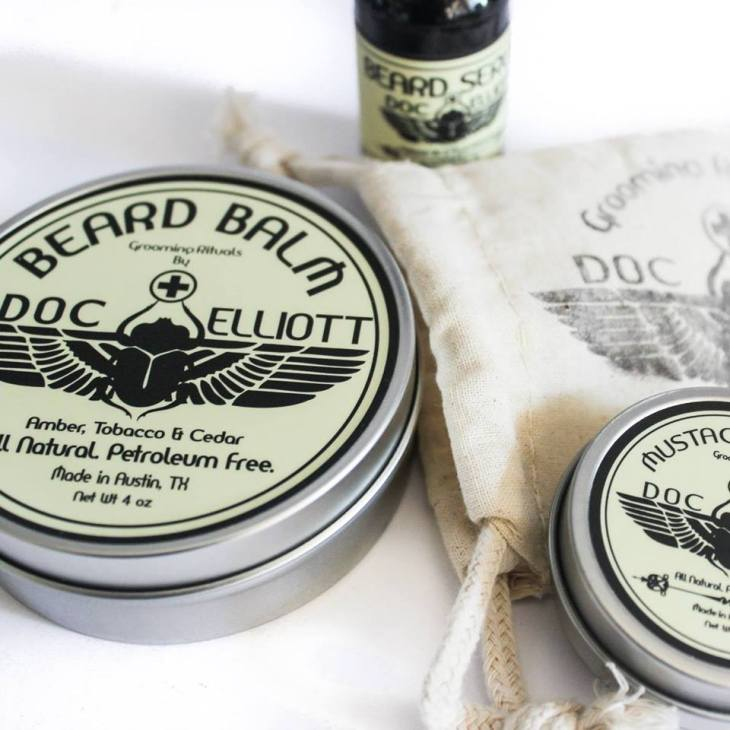 Read on for details on how to win your own set of winter beard-care essentials from Doc Elliott Grooming. Photo courtesy of the brand.