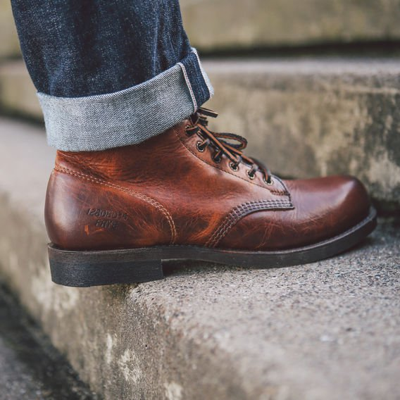 Whiskey Work Shoes Mens