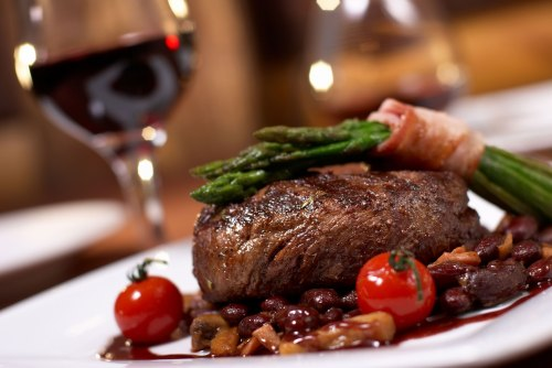 Whether you make something like this or order it, a nice meal can be a great part of Valentine's Day.