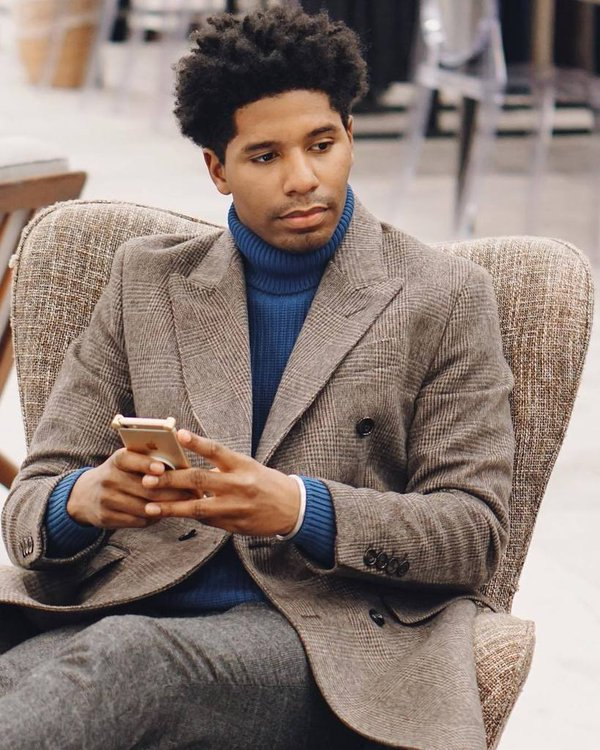 Jamal Jackson, of StyleSocietyGuy, is a recognizable face with a terrific sense of personal style.