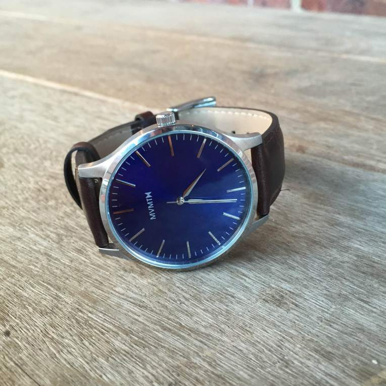 A sharp blue dial and crisp markings make this MVMT Watches timepiece a keeper.