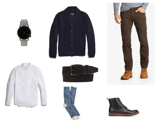 Taking a rugged style essential and mixing in rich color and texture.