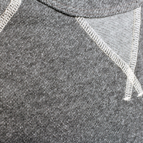 A close-up look at an upgrade worth making -- the slim crewneck. For more on this Pistol Lake piee, read on.
