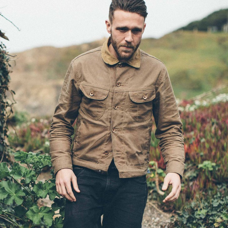 The Long Haul Field Jacket -- another stunning crowdfunded piece up for grabs from Taylor Stitch.