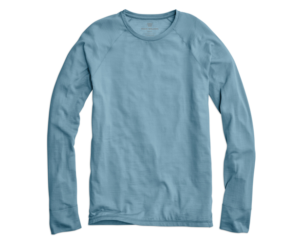 A plain ol' long-sleeve tee? Certainly not. A premium style upgrade? Definitely.