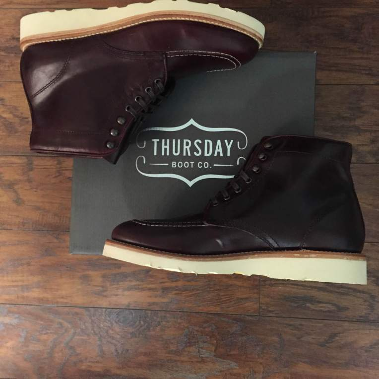 Unboxing the Diplomat Boot from Thursday Boot Company. Big fans of these guys.