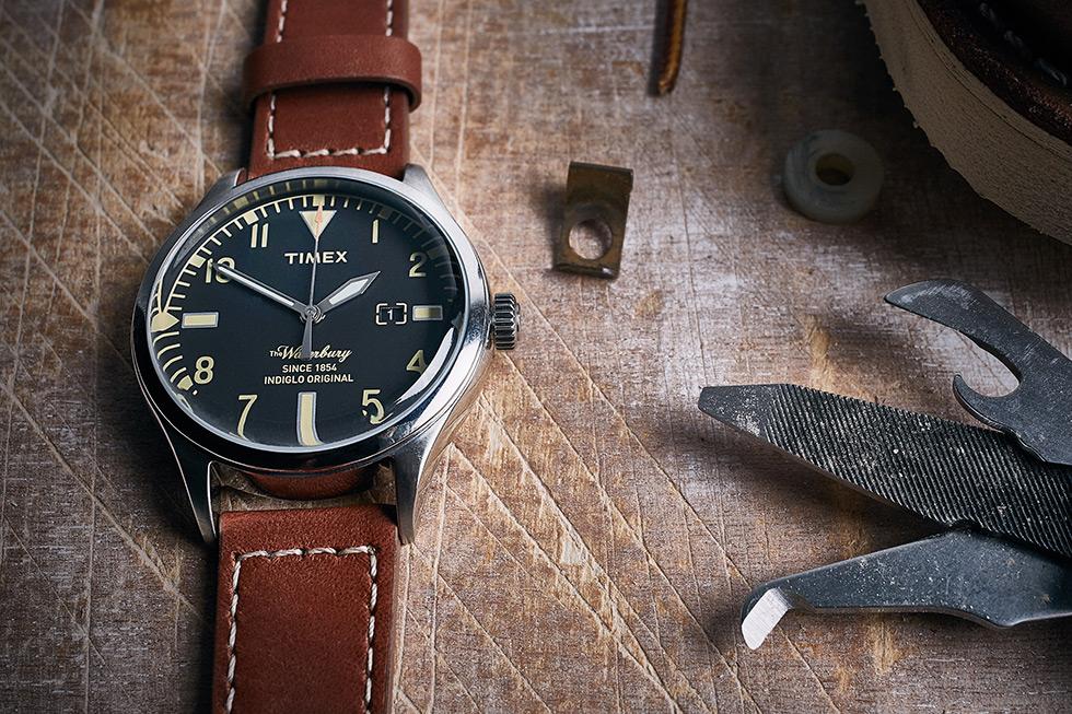 Style Pick Of The Week Timex X Red Wing Waterbury Watch
