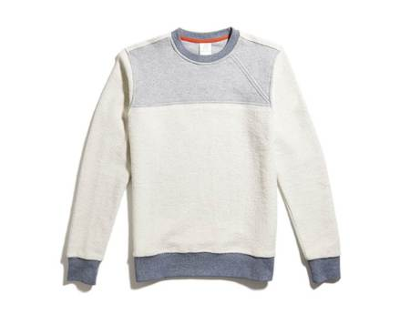 Definitely a change of pace compared to a standard crewneck -- but perfect for spring.
