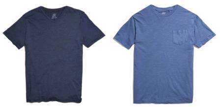 One retailer, two solid T-shirt upgrades from JackThreads.