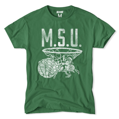 Just one of dozens of school T-shirts stocked by Tailgate Clothing.