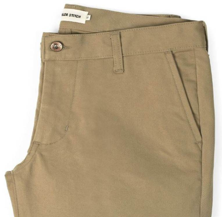 A pair of chinos that's both classic and modern? Pick 'em up before they're gone.