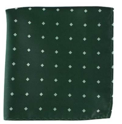A refined combination of green-and-white to counter those less-than-refined St. Patrick's Day situations.