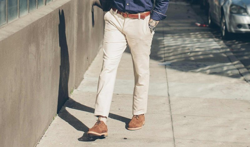 The perfect way to step into spring and summer -- with a crisp chino from Taylor Stitch.