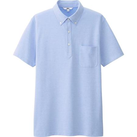 The dressier answer to the casual polo, courtesy of Uniqlo.