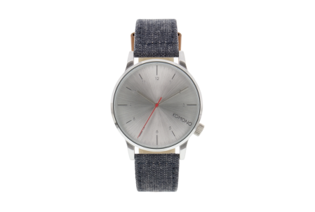 Chambray on a watch strap? Can't go wrong.