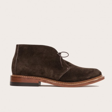 Perhaps the most premium pair of suede chukkas on the market, totally ready for anything.