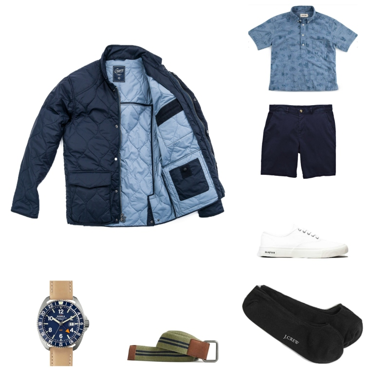 A lightweight jacket and a sharp popover take this outfit to another level -- read on for more details!
