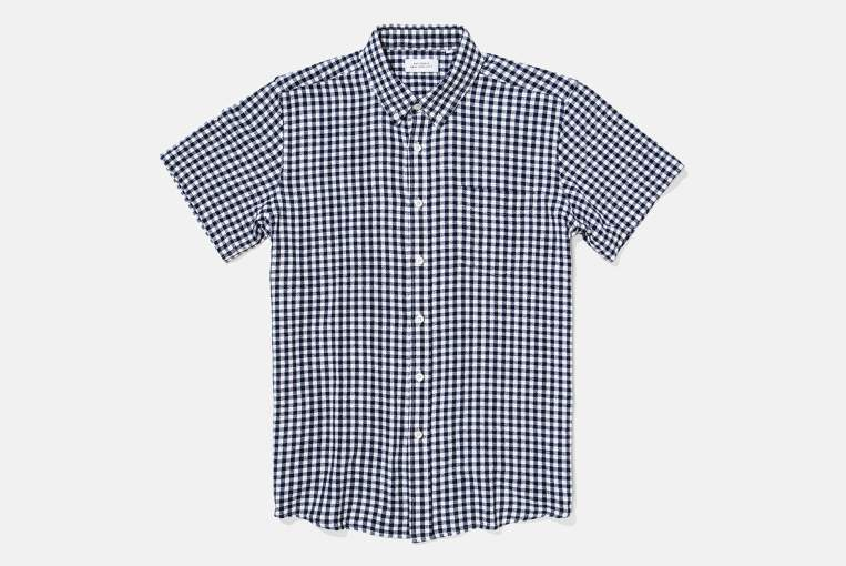 No zany patterns here -- just an effectively stylish gingham print and a modern fit.