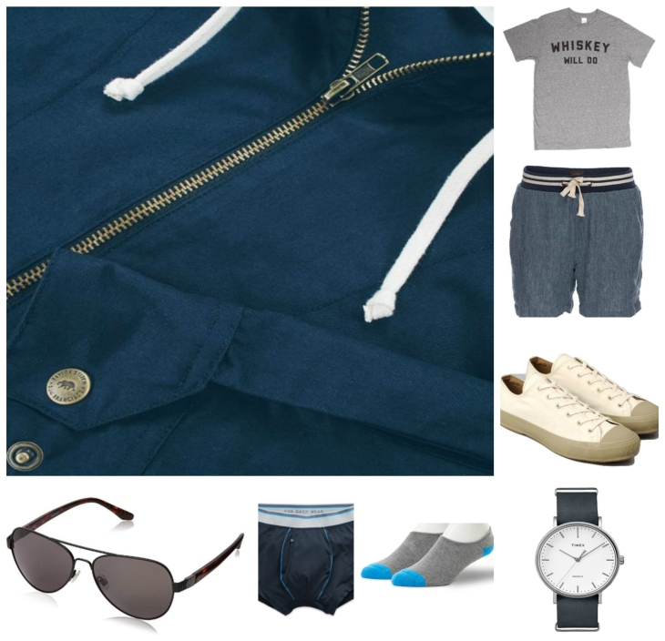 Casual vibes upgraded thanks to some high-quality brands & subtle style details.
