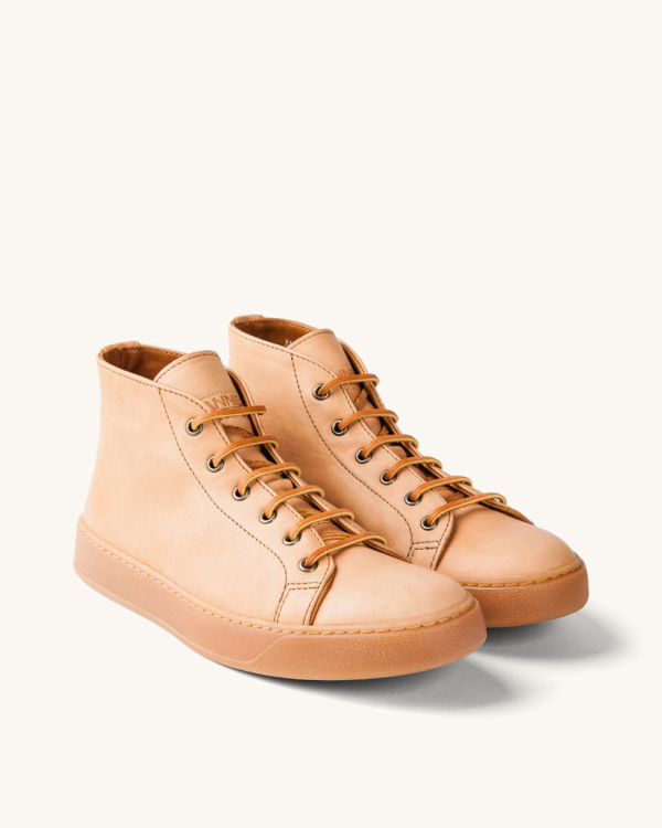 Does it get better than high-top sneakers made in America out of Horween leather? Only when they carry the Tanner Goods name.