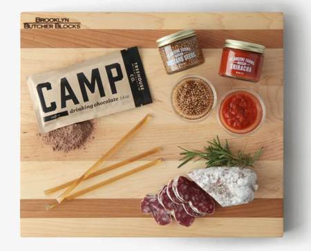 Just about everything a gourmet foodie could want -- including a seriously tough cutting board.