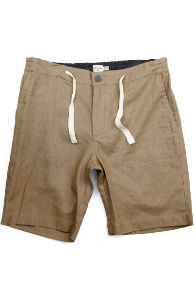 One pair of shorts with twice the cool, thanks to the comfy drawstring waist and the cotton-linen blend.