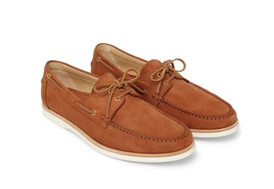 A decidedly stylish boat shoe that's not what your father wore to the beach.