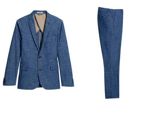 The ideal summer suit from an unexpected brand.