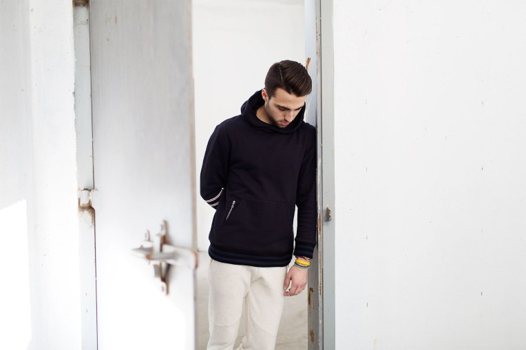 Another look at the L.11 line, and what just might be the nicest hoodie you'll ever own.