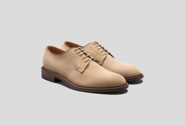 A very continental, very stylish pair of footwear from a new men's line.