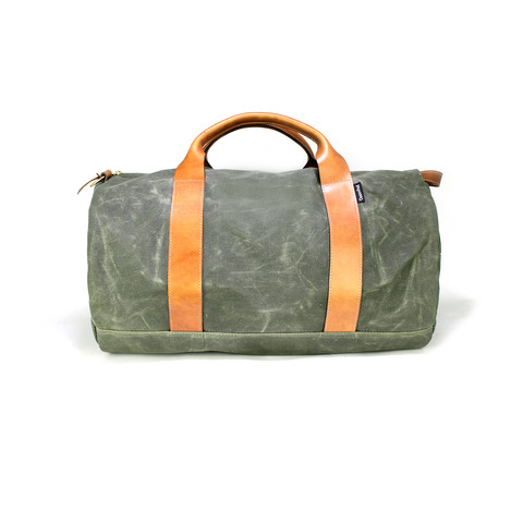 Owen & Fred Voyager Waxed Weekender