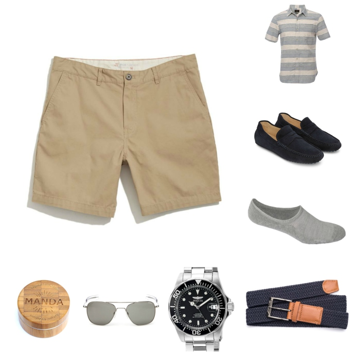 Step 1: Buy shorts for summer. Step 2: Rock shorts for summer using this #OOTD.