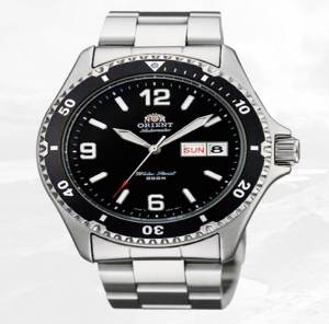 Solid, reliable, durable and coming to you at a nice price -- the Orient Mako II.