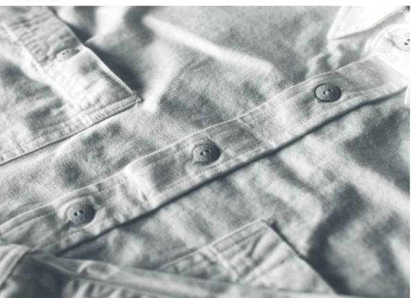 Unbreakable Japanese urea buttons and a stellar fabric make this shirt a workhorse.