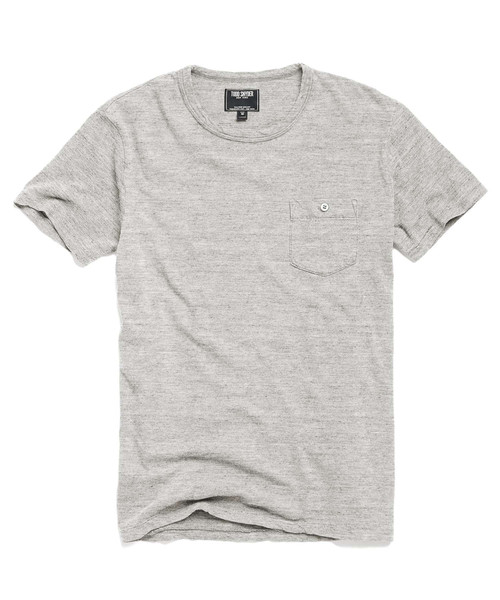 Not just any old T-shirt, thanks to the vintage wash and subtle styling details.