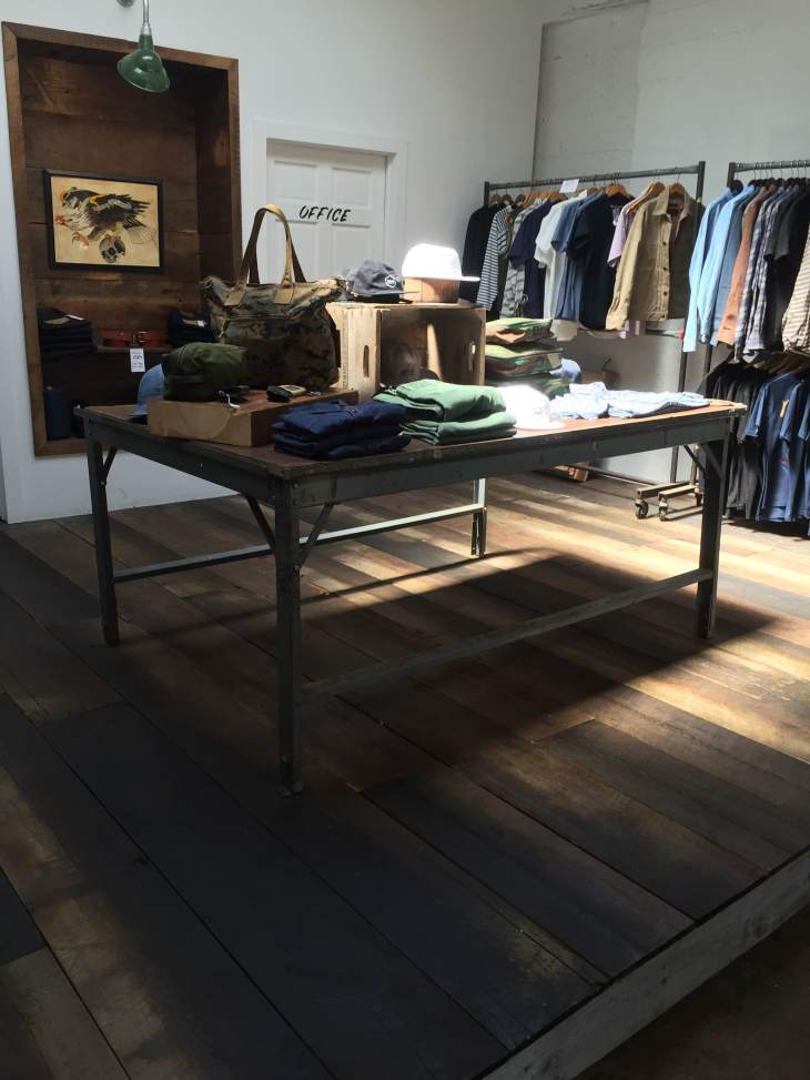 Just part of the amazing Upstate Stock shop -- great natural light, a well-curated selection of home goods and even better menswear.