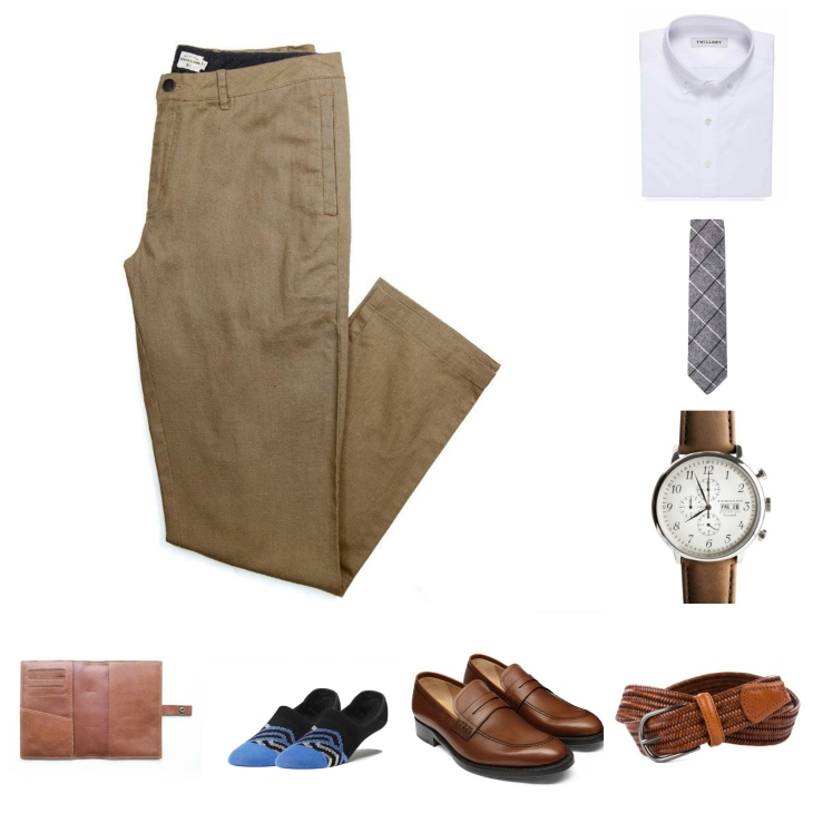 Easygoing, simple and yet still dressy & stylish.