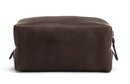 A stylish leather dopp kit that ... comes close to breaking the bank.