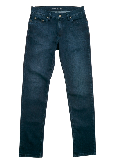 A personal favorite -- the Staple, a slight switch from dark denim that just works.