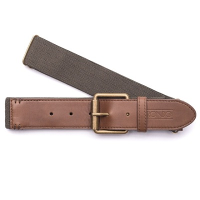 Whereas a leather belt will weigh you down, this number is built with a ton of stretch for lightweight comfort.