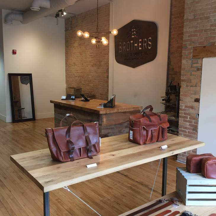 My Grand Rapids trip this summer introduced me firsthand to a great leather goods brand.