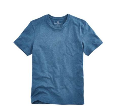 Well-fitting basics are what Mack Weldon does, and this Indigo Heather tee is no exception.