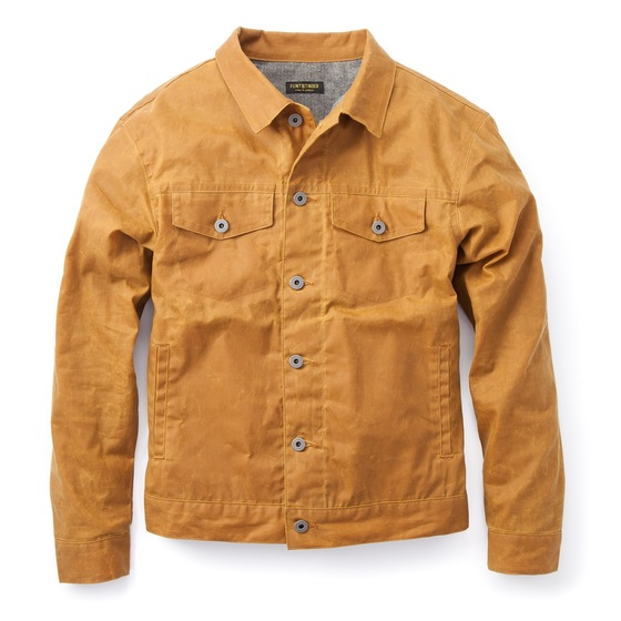 Sturdy hardware and a modern fit also make this jacket a great investment.