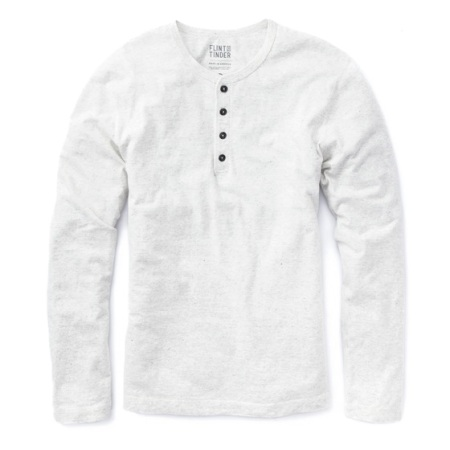The answer to your search for the perfect fall henley, made right here in America.