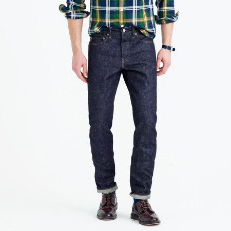 The folks at J. Crew get another style essential -- selvedge denim -- right.
