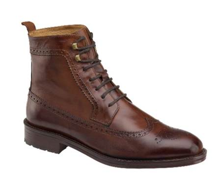 Italian-made leather wingtip boots that you won't want to take off? Sign me up.