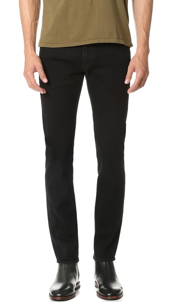Black selvedge denim? Give it a try sometime -- this is arguably the one pair you need.
