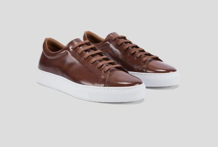 Low-top leather sneakers in the fall? If you know how to style them, yes indeed.